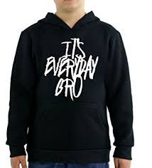 amazon com it u0027s everyday bro kids hoodie clothing
