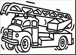 wonderful fire truck coloring pages fire truck coloring