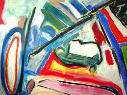 1989 u0027large seascape u0026 diagonal u0027 acrylic large painting u2026 flickr