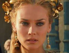 Helen Troy Halloween Costume Diane Kruger Troy 2004 Film Style Fashion Film