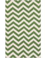 chevron wool knotted area rugs bhg com shop