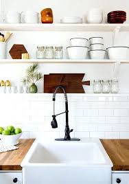 kitchen shelves how to style your open kitchen shelving the