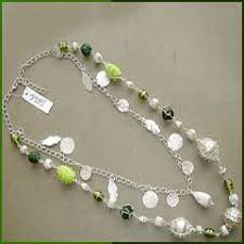 chain beaded necklace images Beaded chain necklaces view specifications details of beaded jpg