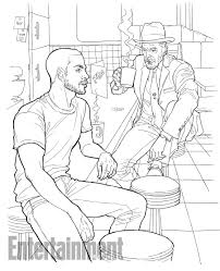 american gods coloring book pages and contest