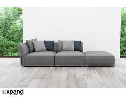 Designer Modern Sofa Stratus Contemporary Sofa 3 Seat Expand Furniture Folding