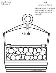 gold frankincense myrrh ornament crafts