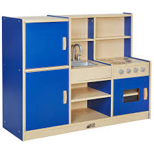 preschool kitchen furniture colorful essentials 4 in 1 play kitchen center ecr4kids schoolsin