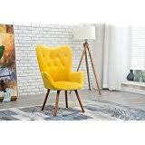 Yellow Accent Chair Amazon Com Yellow Chairs Living Room Furniture Home U0026 Kitchen