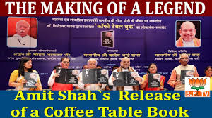 amit shah s release of a coffee table book
