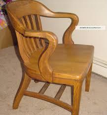 Oak Desk Furniture Interesting 70 Vintage Wooden Office Chair Design Decoration Of