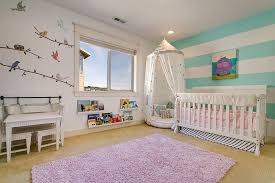 nursery design ideas kids rooms fun and bright nursery design for the baby girl 20