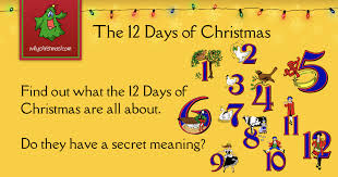 the 12 days of customs and traditions