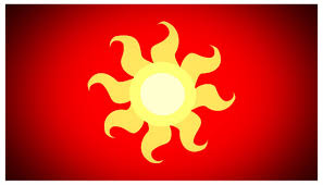 Flag Yellow Sun 329637 Artist Bnka Flag Red Safe Se Solar Empire Sun