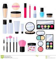 bridal makeup set bridal makeup vector images clotho for