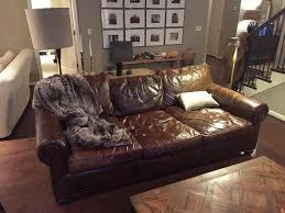 Aged Leather Sofa Restoration Hardware Lancaster Sleeper Sofa Best Home Furniture