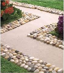 13 diy decoration with rocks to break the monotony in the garden
