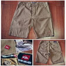 Jual Celana Quiksilver Original jual celana pendek chino quiksilver pant original brown 01 snick