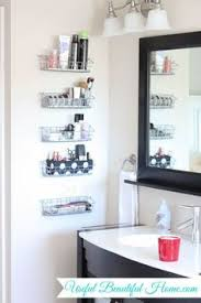 Bathroom Storage And Organization Try This Wire Basket Storage Easy Bathroom Organization From