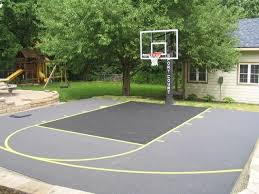Backyard Sport Courts by 10 Best Basketball Courts Images On Pinterest Backyard Ideas