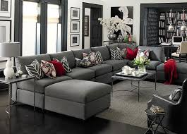 4 ways to decorate around your charcoal sofa maria killam the