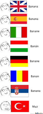 Different Languages Meme - banana in different languages by recyclebin meme center