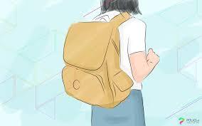 film kartun anak sekolah benda wajib di dalam tas banyak macamnya