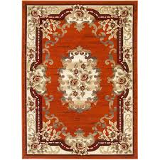 Sculptured Rugs And Carpets Sculpture S 259 Rust Rug U2013 Shiraz Rugs