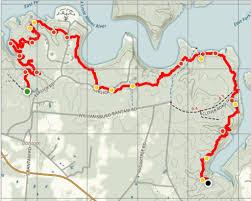 Buckeye Trail Map Ohio State Parks Oldmanoutdoors Net