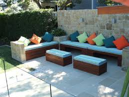wonderful outdoor bench seating ideas diy outdoor corner bench