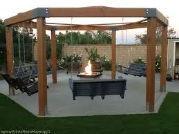 Gazebo Fire Pit Ideas by Fire Pit Gazebo Plans Diy Porch Swing Fire Pit Home Design Garden