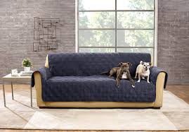 Dog Sofa Covers Waterproof Amazon Com Sure Fit Sf44832 Deluxe Non Skid Waterproof Pet Sofa