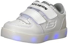 s lights energy lights elate skechers kids boys energy lights 90631n sneaker white 6 m us