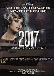 nye cruise chicago speakeasy fireworks miami cruise nye 2017 saturdaynightcruises