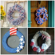 4th of july wreaths july 4th wreaths a diy collection of 16 creative patriotic wreaths