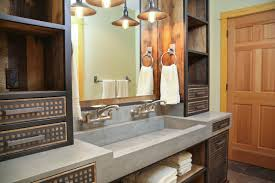 Industrial Style Bathroom Astonishing Industrial Style Bathroom Vanity 37 With Additional