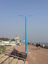 fpl street light program frp street light pole at rs 10000 piece street light pole id