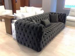 modern chesterfield sofa black fabric modern chesterfield style sofa interior design modern