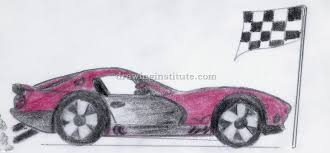 sports car drawing how to draw a sports car step by step for kids