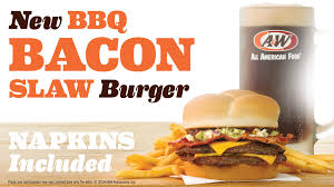 new bbq bacon slaw burger combos youtube