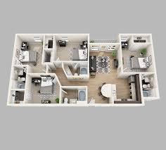 three bedroom apartments floor plans lux 13 apartments in gainesville five minutes from uf