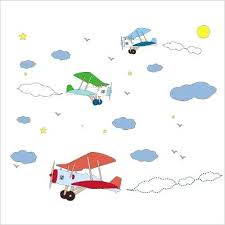 sticker chambre garcon stickers chambre bb transports a aviation stickers chambre bebe