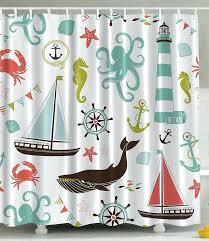 nautical themed shower curtains sea life nautical shower curtain nautical themed shower curtains uk
