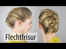 Hochsteckfrisuren Mittellange Haar Anleitung by Flechtfrisur Für Mittellange Und Lange Haare Elegante Frisur