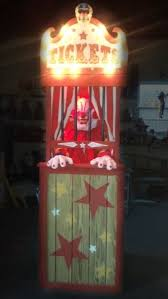 Creepy Carnival Decorations 39 Best Circus Ticket Booth Images On Pinterest Creepy Carnival
