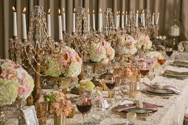 cheap candelabra centerpieces 10 gold details to for a wedding that s nothing but regal