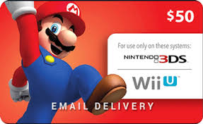 nintendo gift card buy nintendo eshop 50 gift cards online instant email delivery
