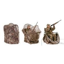 tent chair blind ameristep rapid shooter one pop up ground chair blind