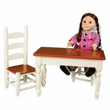american doll table and chairs the queen s treasures farmhouse collection table chairs fits 18
