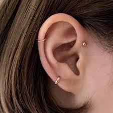 huggie earrings tiny cartilage huggie hoop earrings 5mm 6mm serendipity in seoul