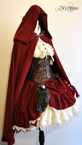 red riding hood spirit halloween my oppa little red riding hood halloween idea steampunk